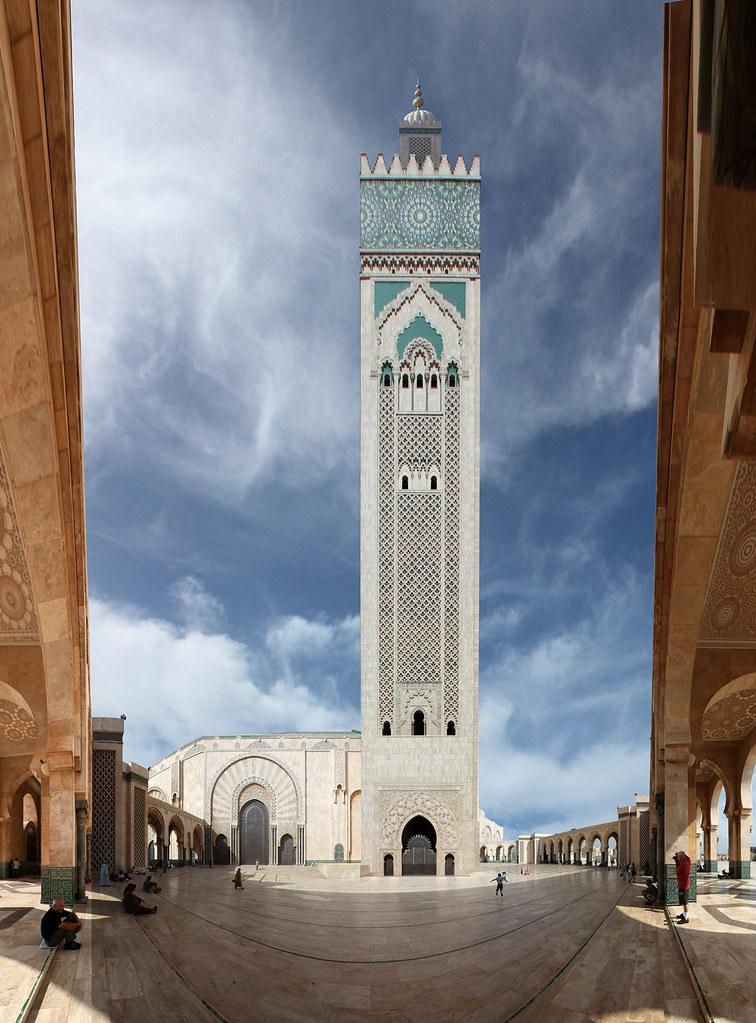 Merci votre majest mosqu e hassan ii casablanca maroc - Marocco casablanca ...