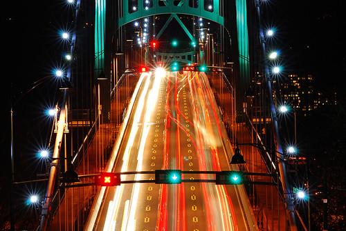 Lions Gate Bridge, Vancouver 2010