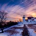 curtis island lighthouse by Michael Leggero