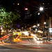 Bourke Street as seen from Parliament House steps, Victoria. by mkoukoullis