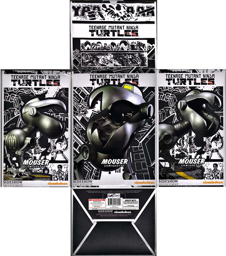 """Sideshow Collectibles :: """"Teenage Mutant Ninja Turtles"""" SDCC Exclusive 'Mouser' Comiquette #205 of 250 // .. box i (( 2010 )) by tOkKa"""