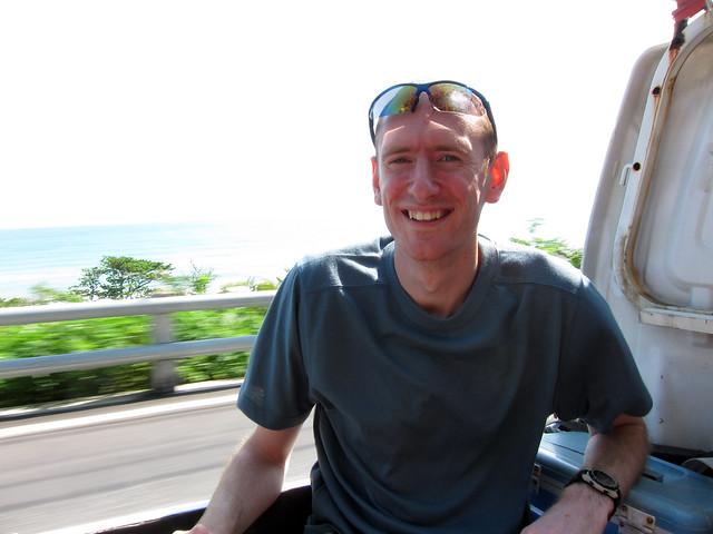 Hitchhiking in Taiwan
