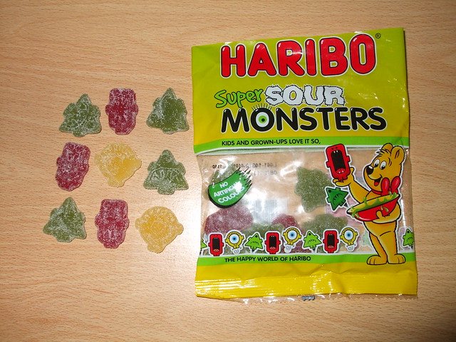 Halloween Candy 2010: Super Sour Monsters