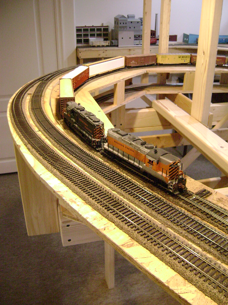 Helix with Straight Plywood - Model Railroader Magazine ...