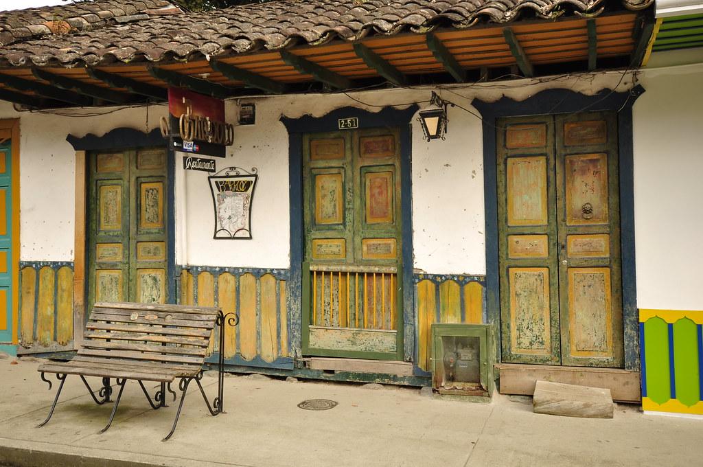 Imagen de una fachada - Imágenes de Salento, Quindío