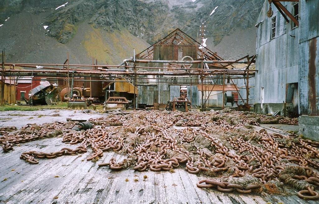 Grytviken Walfang Station Antarktis