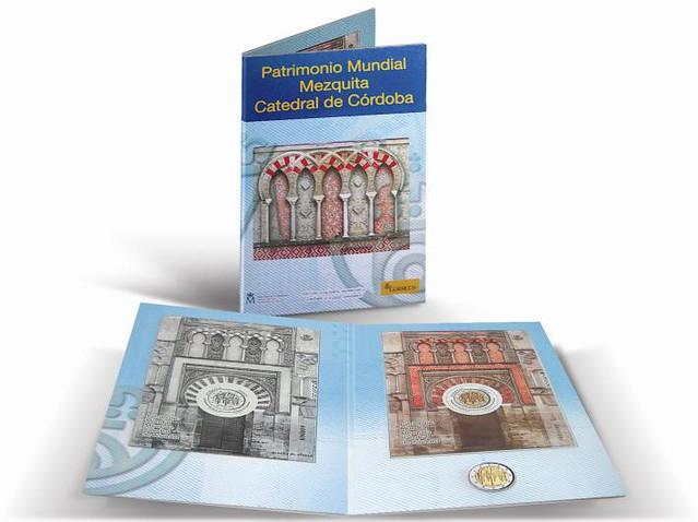 Espa a cartera sello mezquita de c rdoba euros for Oficina de correos cordoba