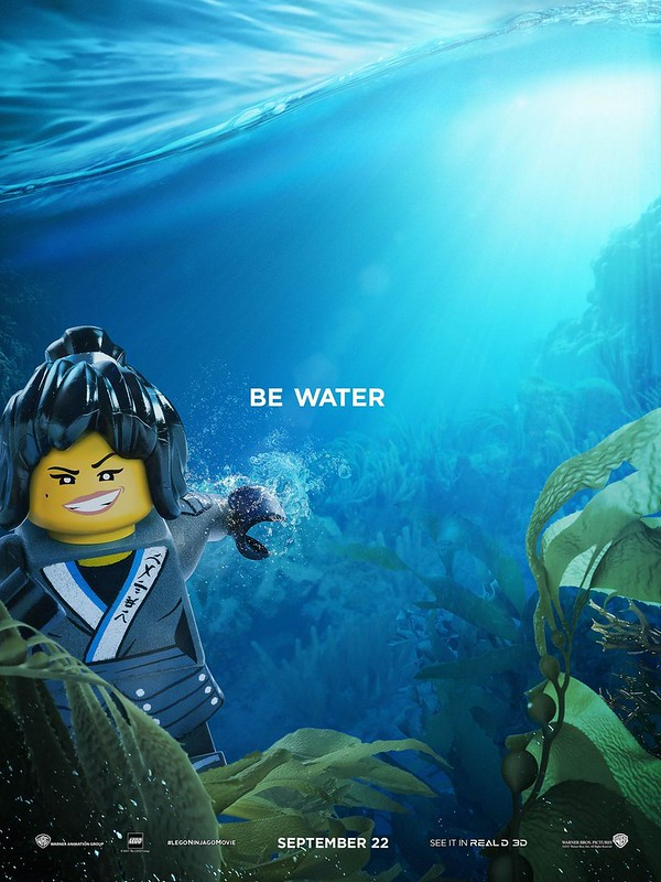 The LEGO Ninjago Movie Plakaty z postaciami 5