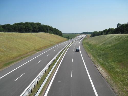 Autobahn 14 near Schwerin