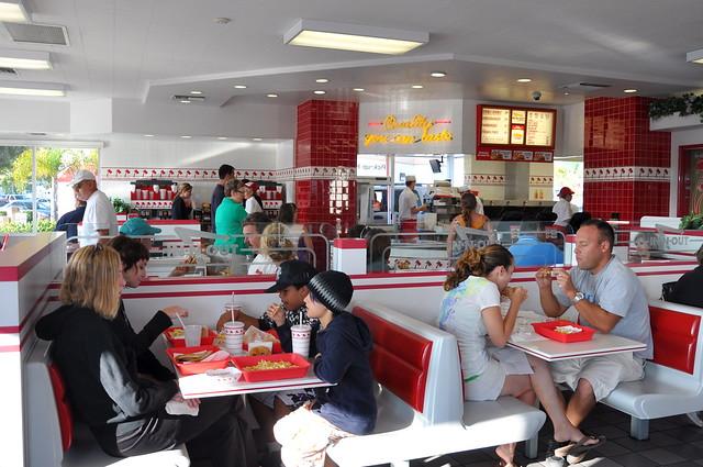 Burger Hotdog Restaurant Near Ossington Station