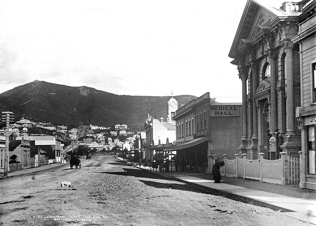Courtenay Place, circa 1900