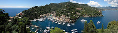 Veduta panoramica di Portofino