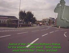 Wolfowitz Statue, near University of Lincoln, England