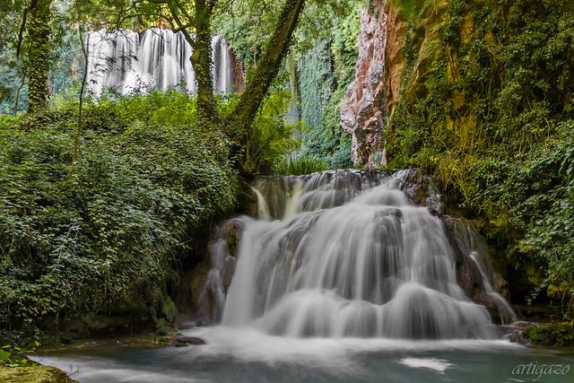Waterfalls (Baño de Diana, Monastery of the rock)