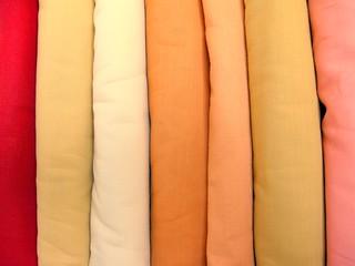 Beautiful Herb Dyed Organic Cotton Fabrics