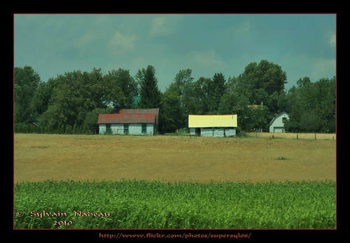 toronto ontario barn highway montréal farm montreal belleville rush 40 autoroute ferme grange 401 quinte