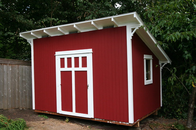 A Craftsman Style Shed Flickr Photo Sharing