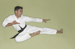 baguazhang(0.0), arm(1.0), contact sport(1.0), sports(1.0), combat sport(1.0), martial arts(1.0), karate(1.0),