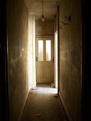 Corridor in Sepia