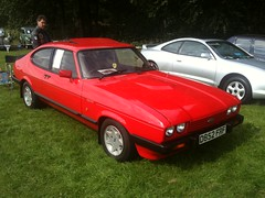 automobile, vehicle, performance car, ford capri, ford, sedan, land vehicle, coupã©, sports car,