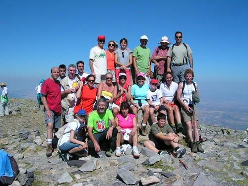 Casilruiz. En la cima del Moncayo, como si nada. 2010 (foto Use)