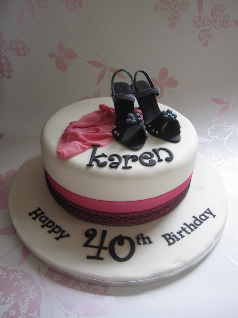 Cake Ideas For 40th Birthday Female : 40th Birthday Cake Flickr - Photo Sharing!