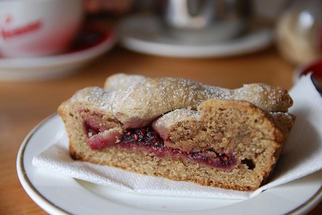 Linzer Torte - Knead Bakers AUD3 per slice