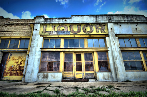 Old Liquor Store, Taylor, Texas