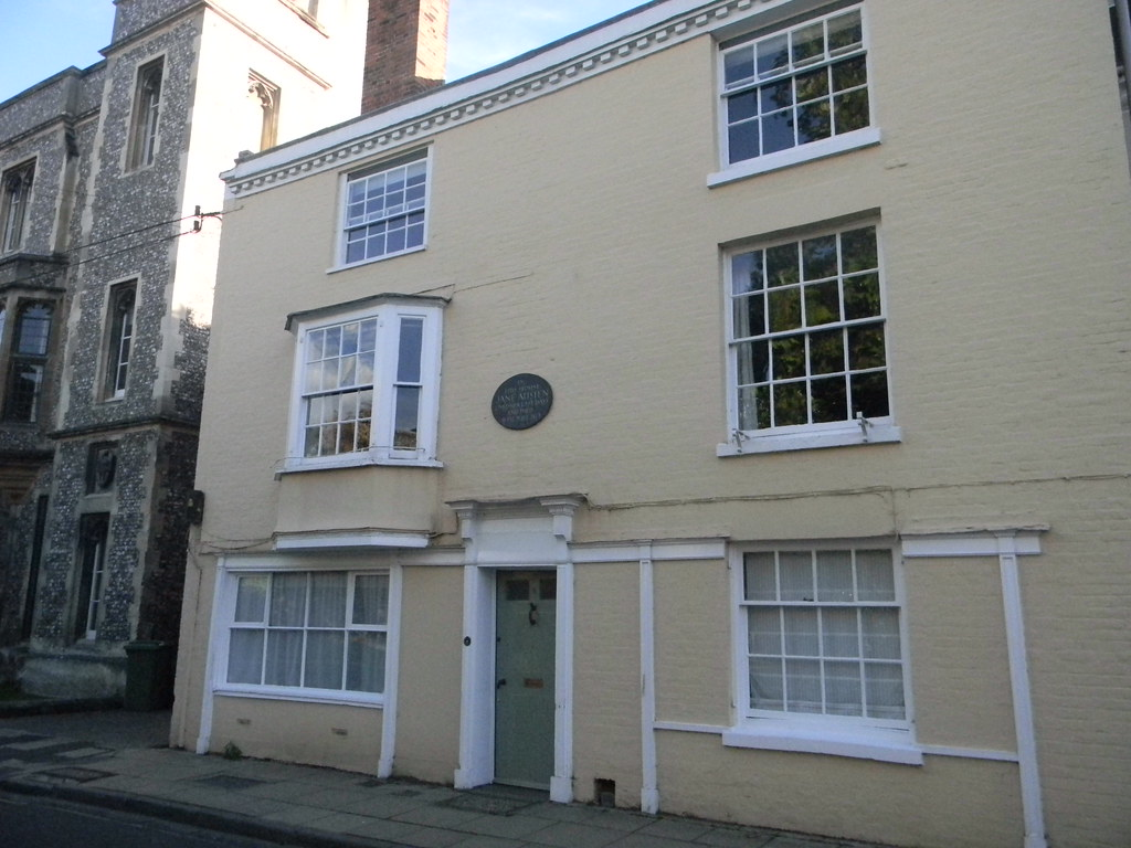 8 College Street Where Jane Austen died. Winchester Circular