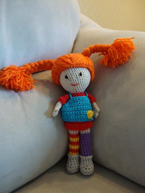 Amigurumi Pippi Yapilisi : Pippi Longstocking Flickr - Photo Sharing!