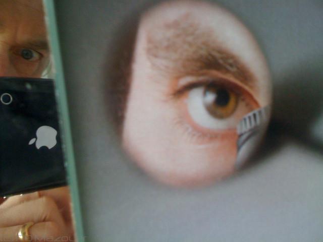 Autoportrait travers le miroir dans l 39 esprit du for Autoportrait miroir