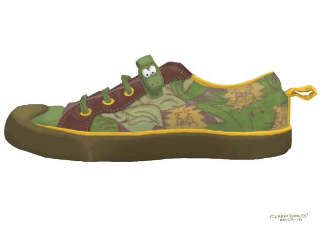 clarks doodles shoes flickr photo