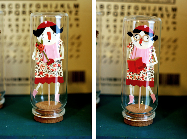 Two Face Doll in a Jar (#2)