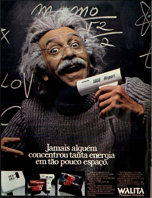 1982 Ad - Walita Airport hair dryer