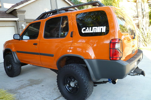 2003 atomic orange nissan xterra se supercharged for sale. Black Bedroom Furniture Sets. Home Design Ideas