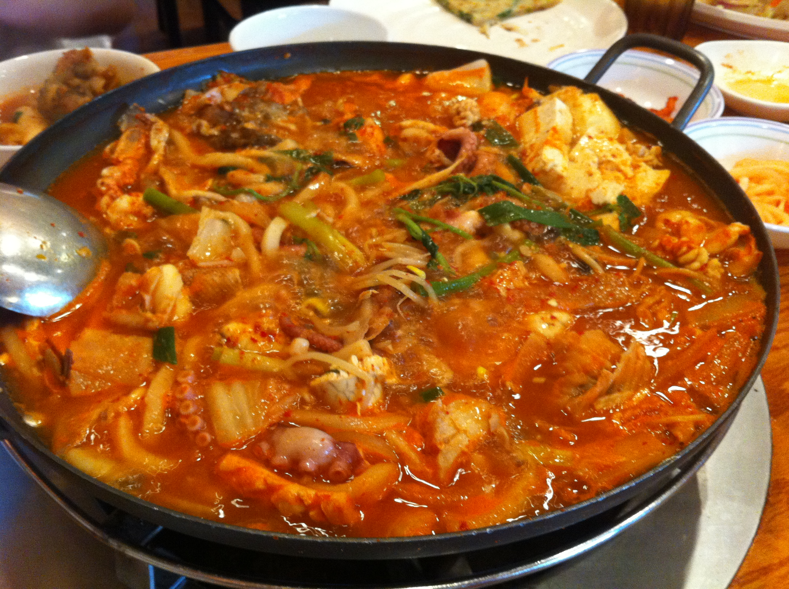 Sup Seafood Pedas - my fave here!
