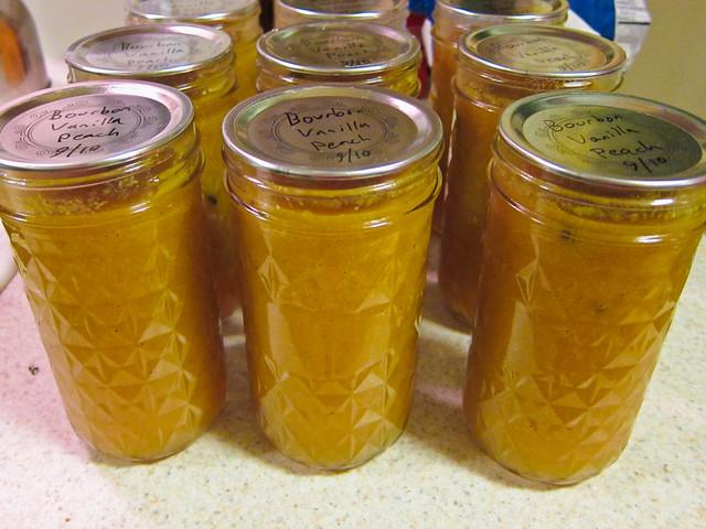 Bourbon Vanilla Peach Jam | Flickr - Photo Sharing!