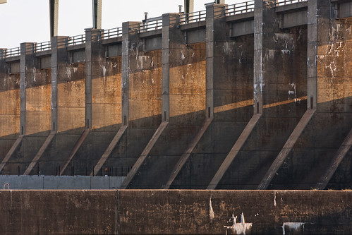 morning chattanooga dam tennessee tva tennesseeriver spillway floodgates tennesseevalleyauthority chickamaugadam