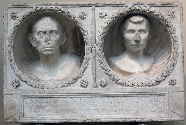 L. Antistius Sarculo and his Wife