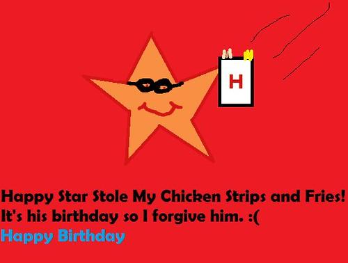 Happy Birthday to Hardee's