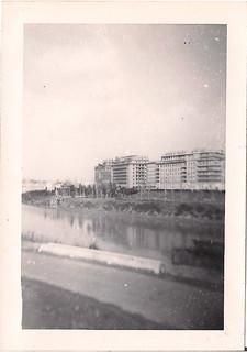 """Tiber River near """"Foro Mussolini"""""""