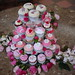 Cherry Blossom Themed Wedding Cupcake Tower