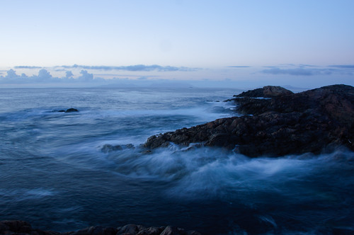 Stormy seas at Coll, by
