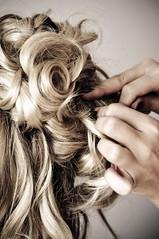 hairstyle, hairdresser, hair, blond,