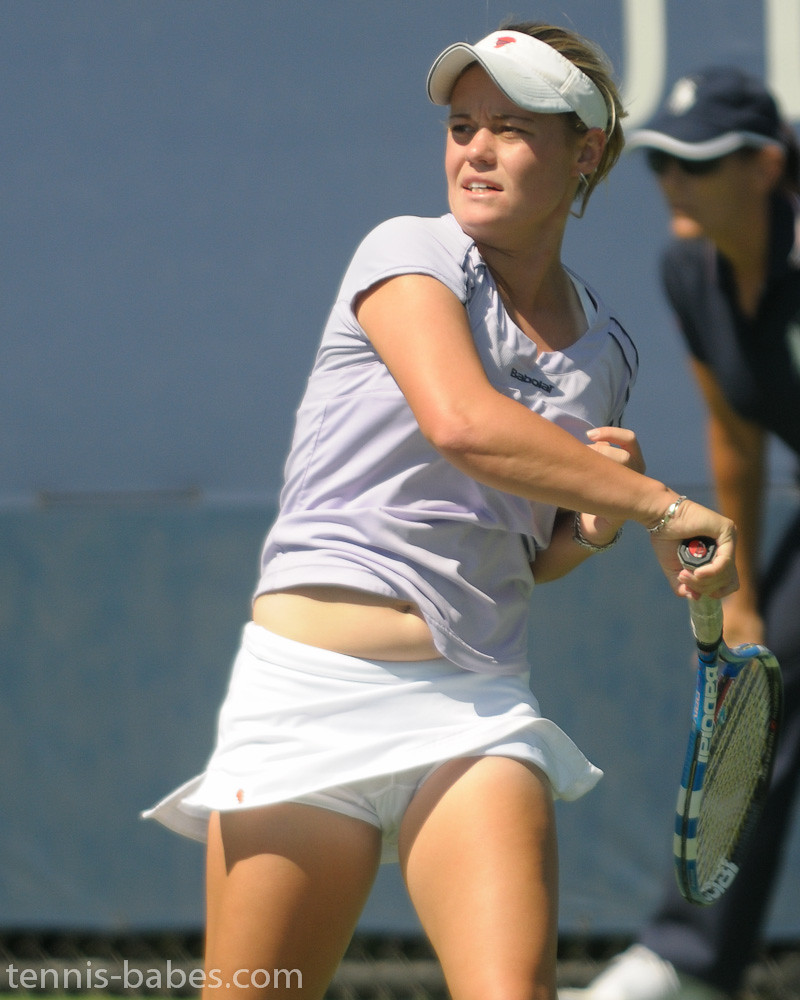 hot women black tennis