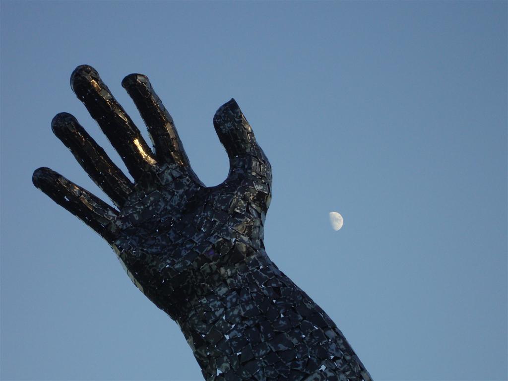 La luna en la noche más corta del año Stonehenge - 5065145821 01b547f1e5 o - Stonehenge, el mágico día del Solsticio