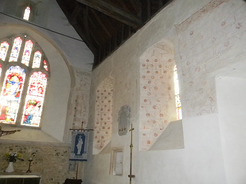 Inside the church, Silchester