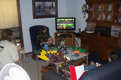 Playing Mario-Cart Wii on 10-10-10