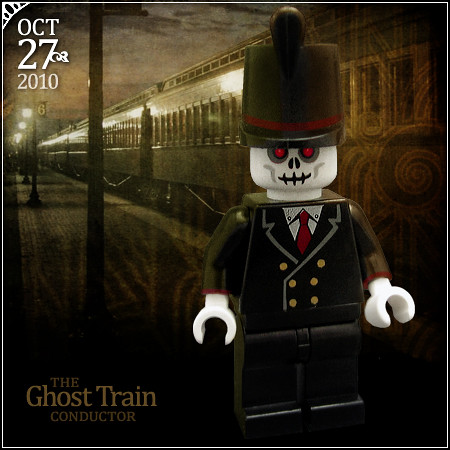 October 27 - Ghost Train Conductor