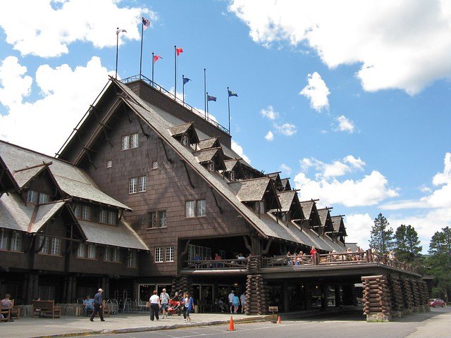 Yellowstone lodge flickr photo sharing Yellowstone log cabin hotel